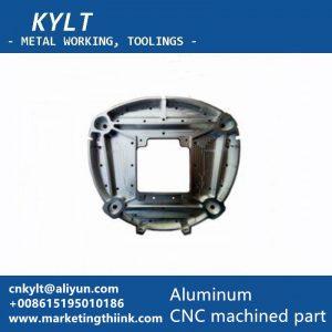 aluminum machined part