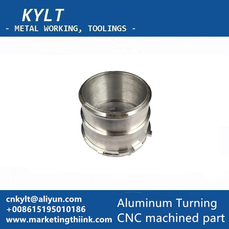 Aluminum CNC turned part