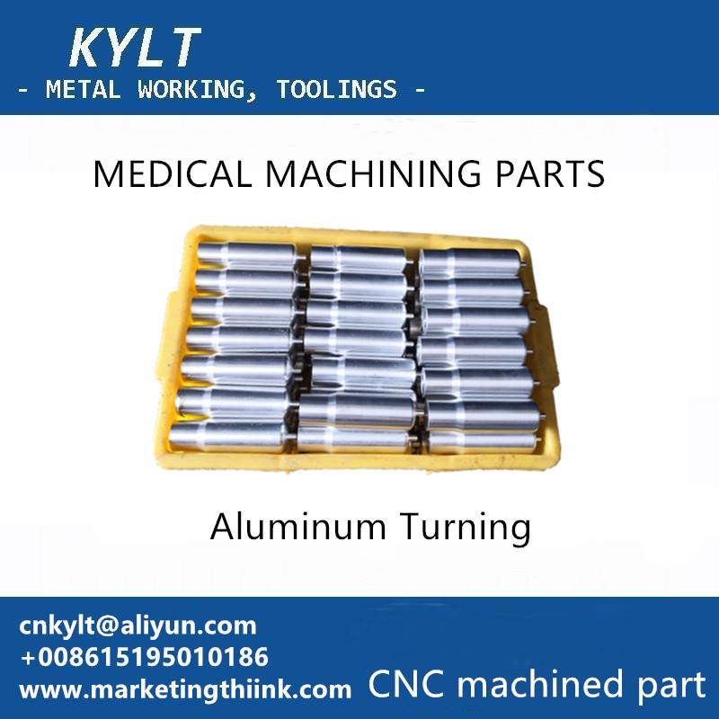 Aluminum turned MEDICAL MACHINING PARTS