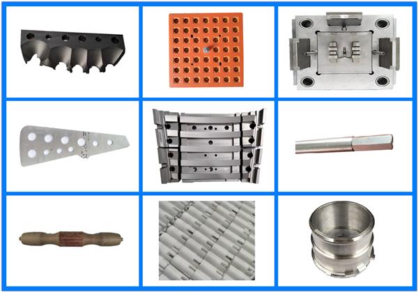 CNC machining workpieces