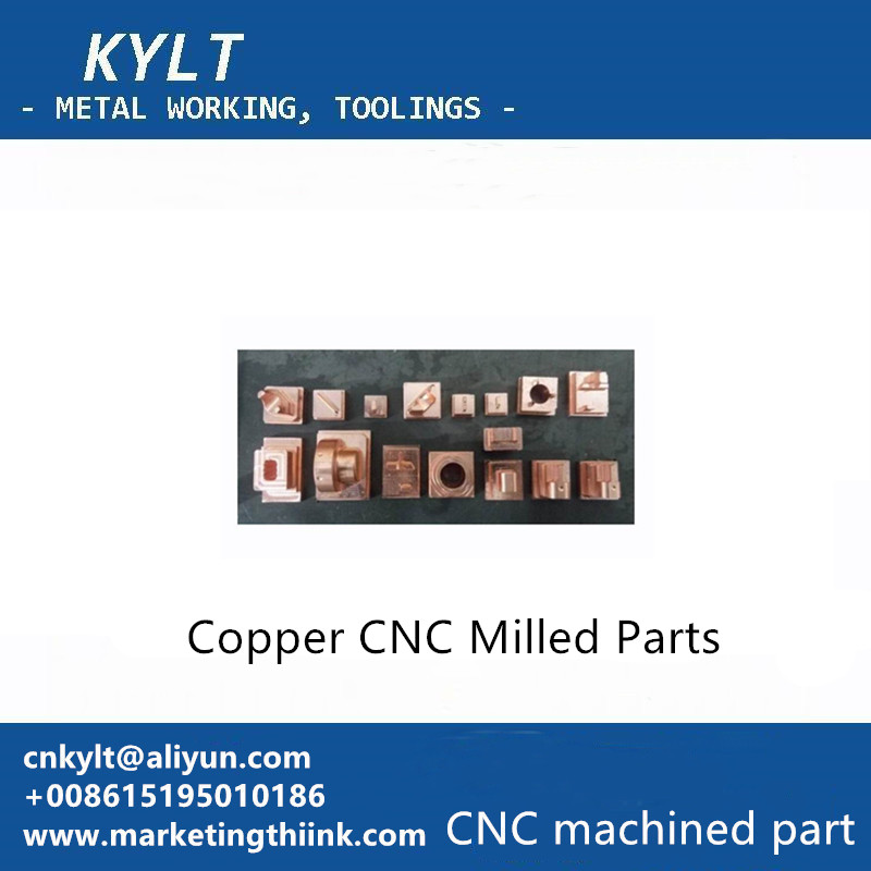 Copper CNC Milled Parts