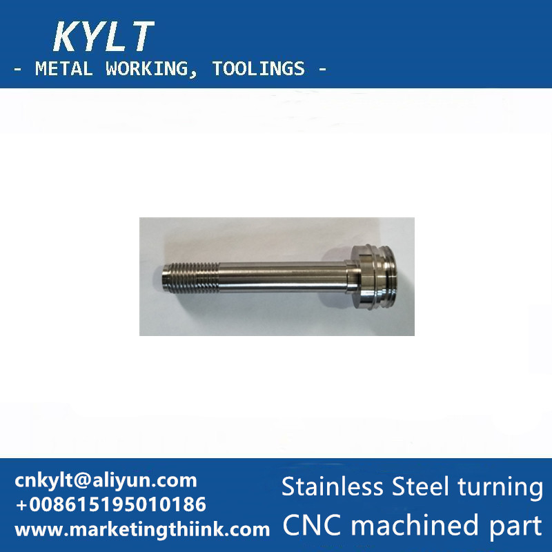 Stainless steel CNC lathe turned part