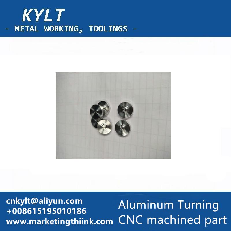 aluminum turned workpiece