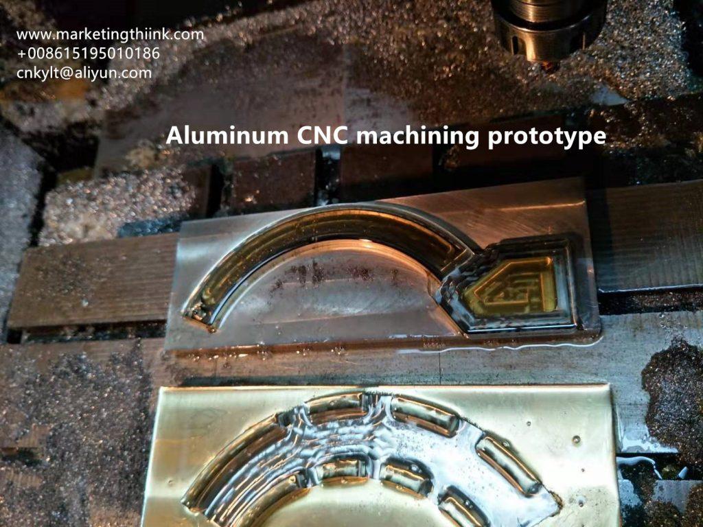 Aluminum CNC machining prototype