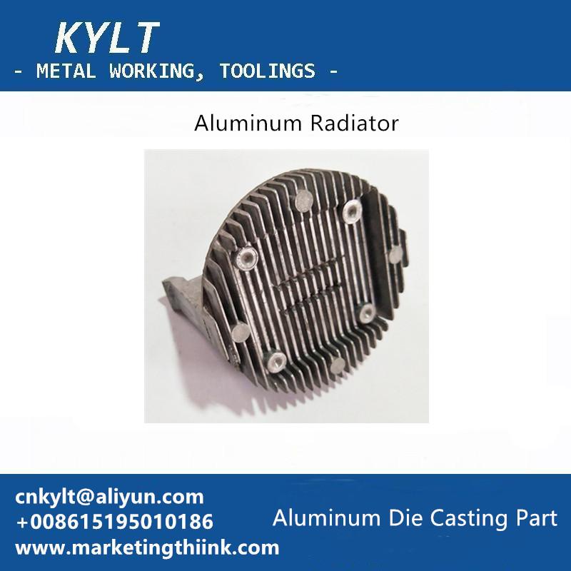 Aluminum Die Casting Radiator