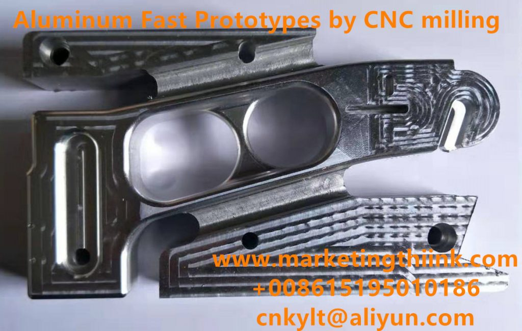 Aluminum Fast Prototypes by CNC milling