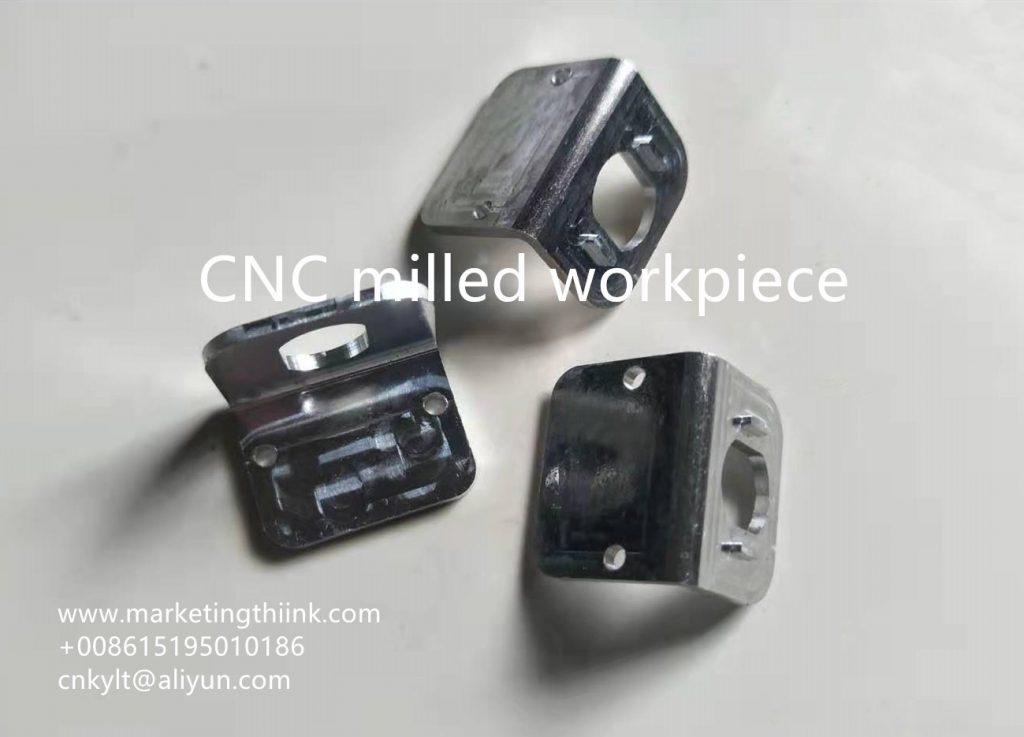 CNC milled workpiece