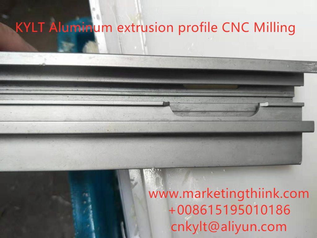 KYLT Aluminum extrusion profile CNC Milling