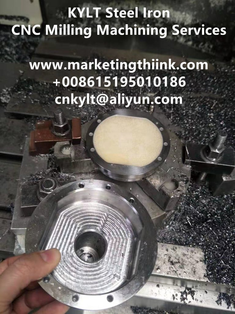 KYLT Steel Iron CNC milling part