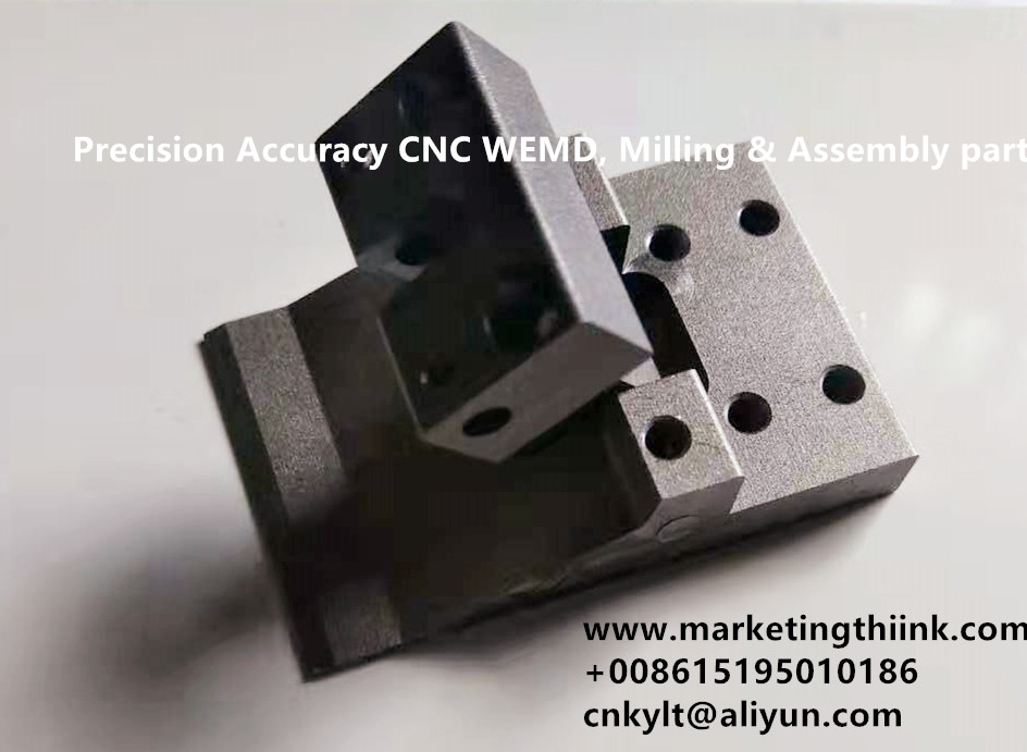 Precision Accuracy CNC WEMD, Milling & Assembly part