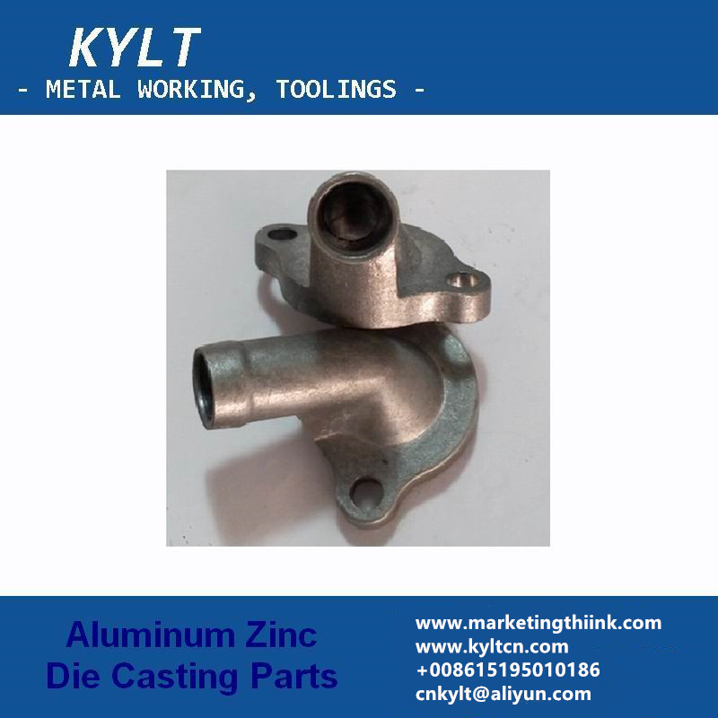 Aluminum connect tube by die casting
