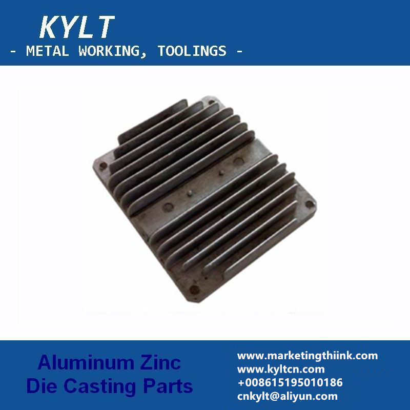 Aluminum cooler by die casting
