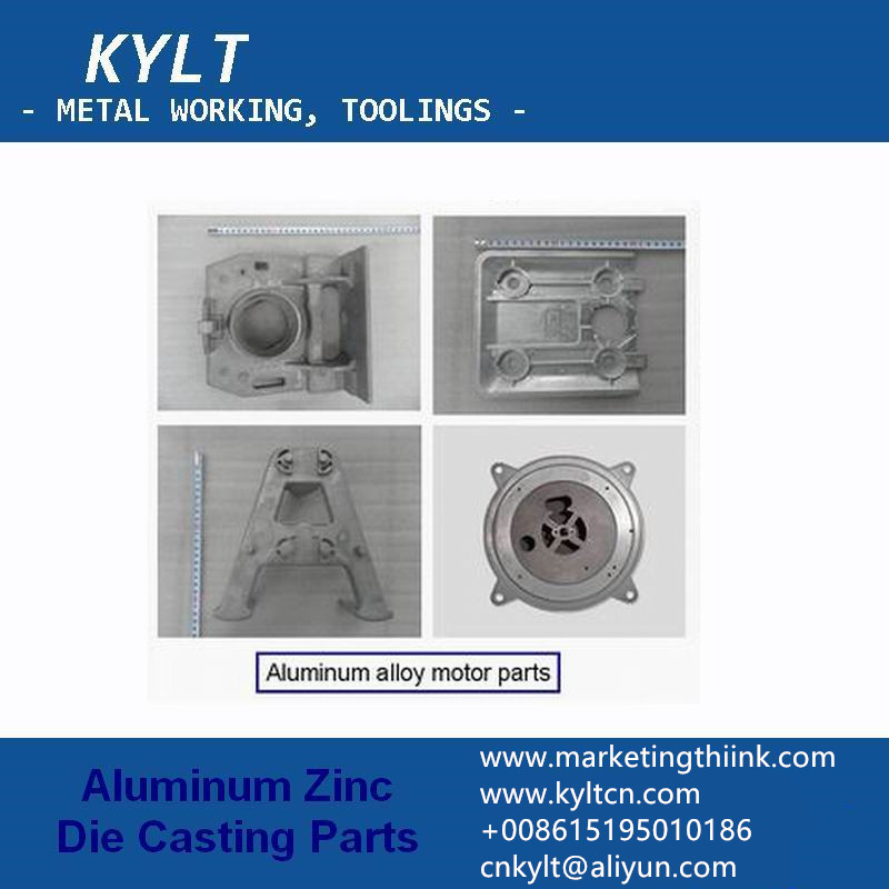 aluminum alloy motor parts by die casting