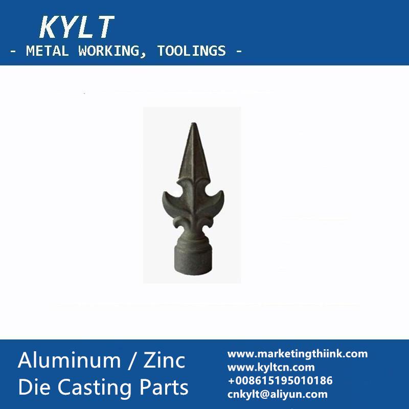 aluminum decoration part by die casting