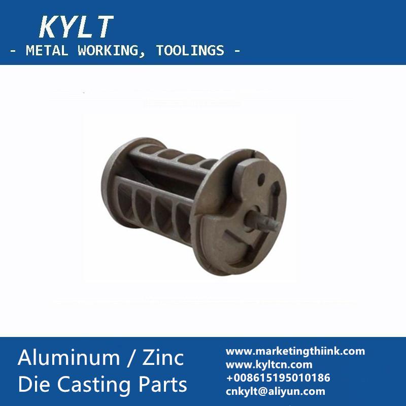 aluminum die cast car seat belt part
