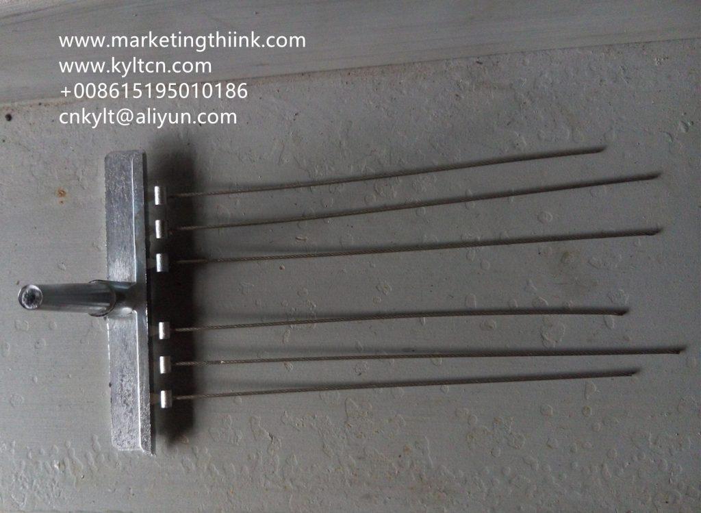 brake wire zinc end