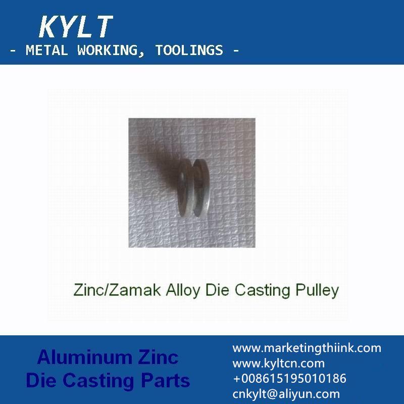 zinc die casting pully
