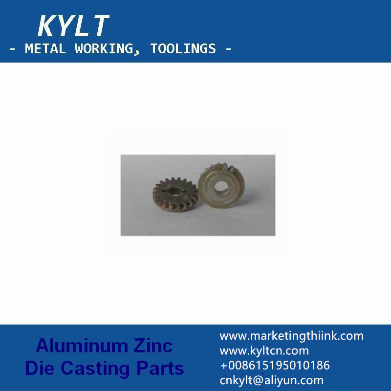 zinc gear by die casting