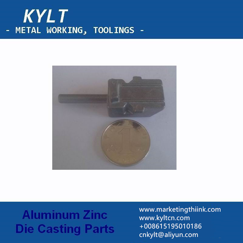 zinc inject part for electrical